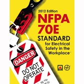NFPA 70E: Standard for Electrical Safety in the Workplace 2012 Edition - NFPA - NF-70E-2012 - ISBN: B005UNNJXM - ISBN-13: