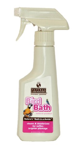Bird Bath Enzyme Stain and Odor Eliminator for