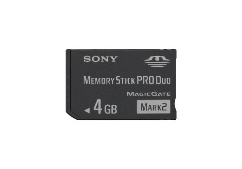 Sony 4GB MS PRO DUO (Mark 2) Memory Stick (MSMT4G/TQMN)