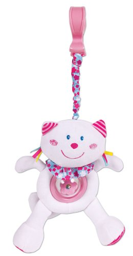 Small World Toys All About Baby Infant - Shake and Wiggle Buddies--Kitty