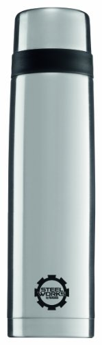 Sigg Thermo Classic Line Water Bottle (Brushed, 0.7-Liter) front-1066584