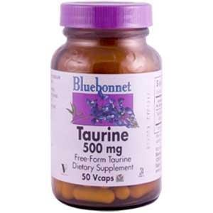 Taurine 500mg Bluebonnet 50 Caps