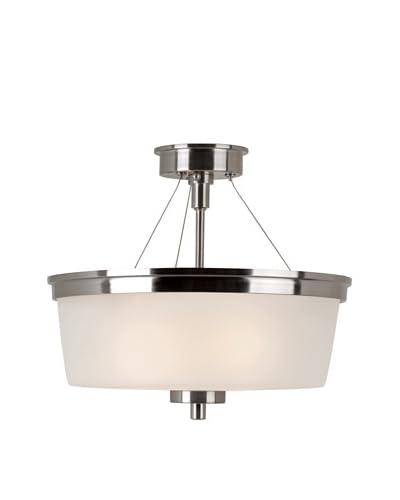 Trans Globe Lighting Urban Swag Semi Flush-Mount Fixture, Brushed Nickel As You See