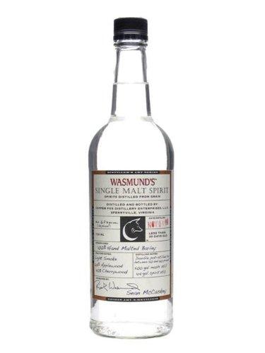 Wasmund's Single Malt Spirit / 62% / 70cl