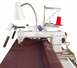 Queen Quilter by Tin Lizzie Long Arm Quilter w/ Stitch Regulator & Frame