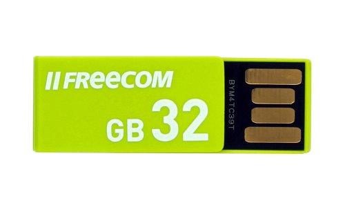 Freecom USBClip USBフラッシュメモリ Green 32GB USB2.0 簡易パッケージ 36889