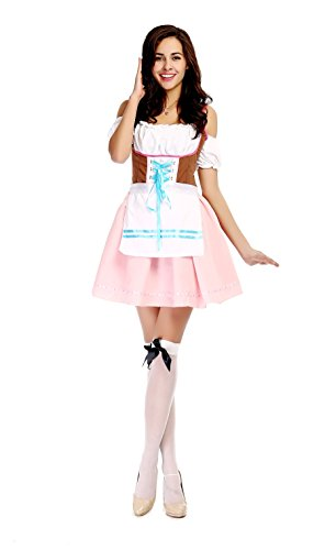 Fashion Queen Women's Fetching Fraulein Costume Bavarian Bar Maid Costume