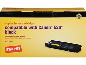 Canon E20 Compatible Copier Toner Cartridge