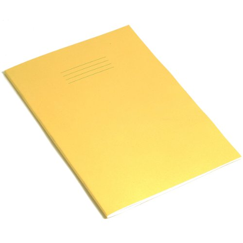 rhino-a4-exercise-book-80-page-blank-pack-of-5-yellow-cover