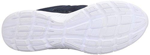 Fila Men's Speedway Running Shoe, Fila Navy/Black/Castlerock, 10 M US