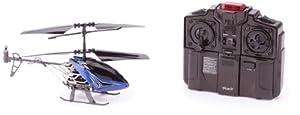Silverlit - 84512 - Radio Commande Véhicule Miniature - I / R Sky Dragon - 3 Canaux Gyro - Bleu