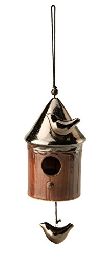 Boston International Decorative Garden Bell, Bird House