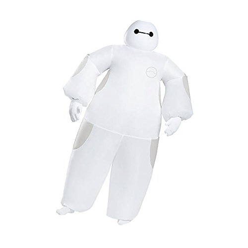 Shindigz Halloween Party White Baymax Inflatable Adult Costume