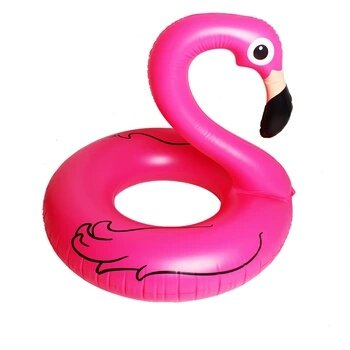 Children Swim Circle Rhubarb Duck Paddle Boat Baby Ducks Inflatable Seat