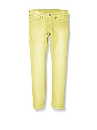 Pepe Jeans London Pantalón Pixlette (Amarillo)
