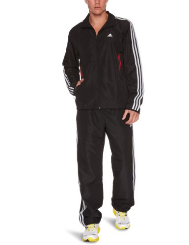 Adidas 365Q Tracksuit Woven Oh Single Breasted Men's Two-Piece Suit