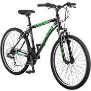 "26"" Schwinn Sidewinder Men's Mountain Bike, Matte Black/Green by schwinn"