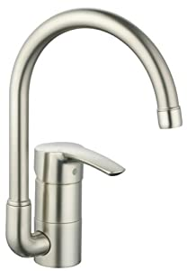 Grohe 33986en1 eurostyle prep sink faucet touch on kitchen sink faucets - Grohe kitchen faucets amazon ...