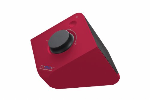 Moov Uniden Bluetooth Wireless Speaker, Red (Moov626R)