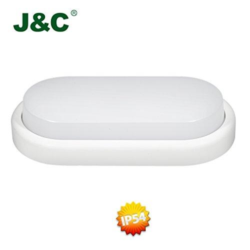 JC-12W-850LM-PC-Oval-LED-Wannenlampe-Deckenleuchte-Kellerleuchte-Naturwei-4000-4500K