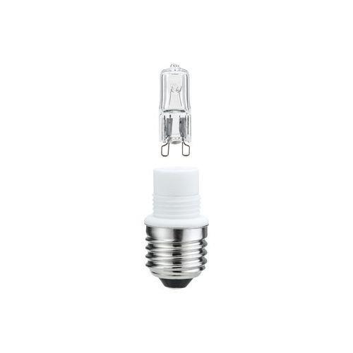 High-voltage halogen socket set 70 W E27, clear
