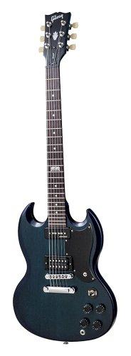 Gibson Usa Sgfap5Rc1 Sg Futura 2014 Solid-Body Electric Guitar - Pacific Blue Vintage Gloss