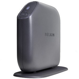 Belkin Connect N150 F7D5301 150Mbps Wireless-N Access Point & 4-Port Router from Belkin Components