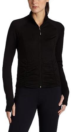 (暴跌)CK Calvin Klein Women's Jump Start Crop Jacket女士休闲运动夹克蓝$36.94