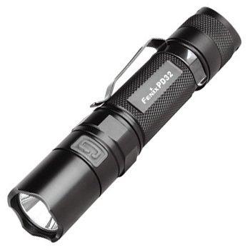 Fenix Pd32 Premium R5 Cree Xpg Led Flashlight 18650 Or 2* 3V Cr123A Batteries Tiny Flashlight Led