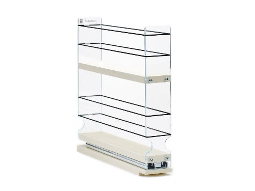 Spice Rack Narrow Space – 12 Capacity – Drawer Access