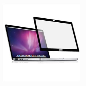 "TopCase Anti-glare Bubble Free LCD Screen protector with Black Frame for Apple Macbook Pro 13"" 13-inch with or without Retina Display + TopCase Mouse Pad (Mac Pro 13"" A1278, Black)"