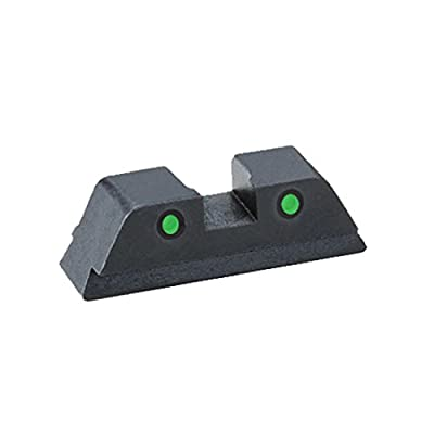 "Ultimate Arms Gear GL-432R Glock 42,43 Operator Tritium Two Dot Classic REAR Sight .150"" Notch from Ultimate Arms Gear"