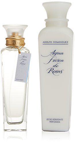 Adolfo Dominguez Agua Fresca De Rosas Eau De Toilette Spray 200ml Set 2 Parti