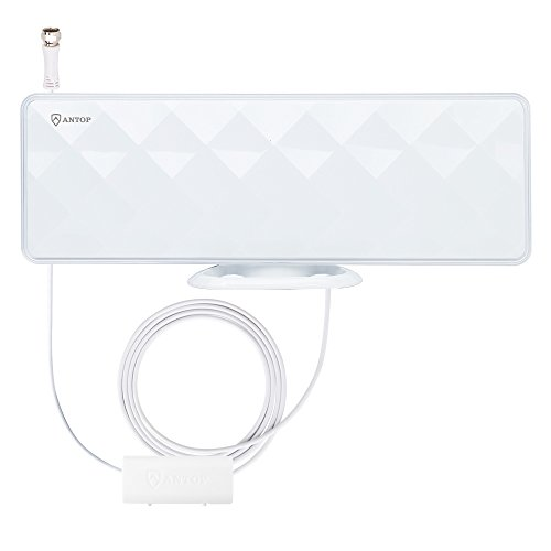 ANTOP-AT-201B-Flat-Panel-Smartpass-Amplified-Indoor-TV-Antenna-with-High-Gain-and-Built-in-4G-LTE-Filter-4050-Mile-Long-Range-Multi-Directional-Reception-10-Coaxial-Cable-HD4K-UHD-Ready