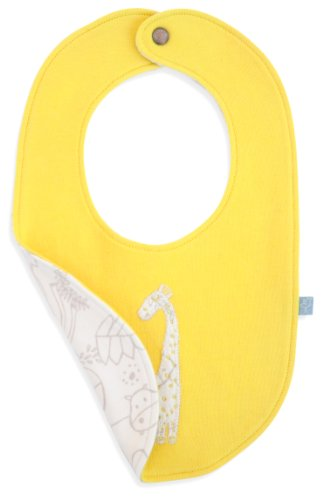 Finn + Emma Organic Cotton Reversible Bib - Jungle