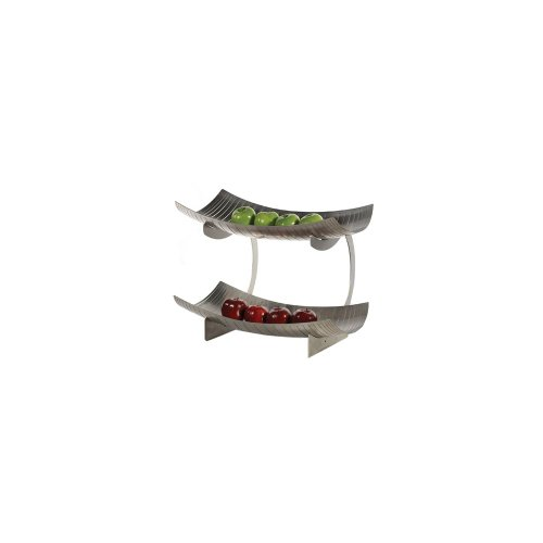 Cheap Buffet Euro S/S 2 Level Fruit Stand Display (STA 99 X 2)