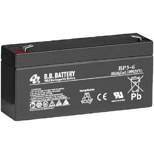 B.B. Battery 6V 3Ah Battery T1 Terminal, BP3-6-T1 (Shim For Mazda 3 compare prices)