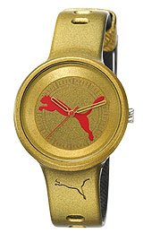 Puma Slick Big Cat Gold-tone Dial Women's watch #PU910682012