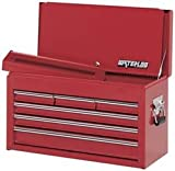 Waterloo WI-624 Pro Series 26 Inch 6-Drawer Chest With Drop Front – Red Picture