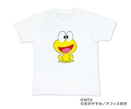 スマホをかざすと、しゃべる!動く! ピョン吉AR Tシャツ Mサイズ