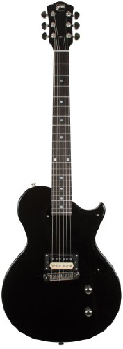 Axl Al-1080-Mbk Usa Torino Solid-Body Electric Guitar, Metallic Black