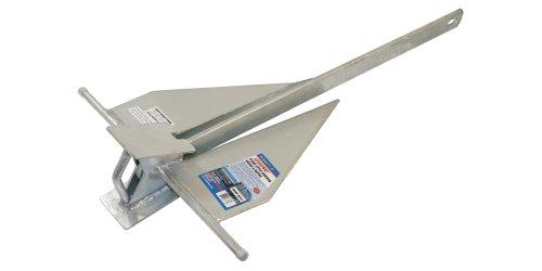 SeaSense #8 10lb, Penetrating Galvanized Fluke Style Anchor primary