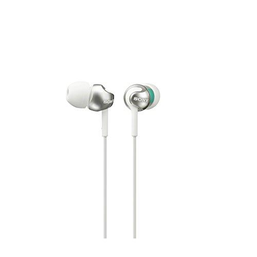 Sony MDR-EX110LP Cuffie Auricolari, Bianco