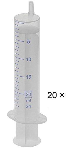 Einmal-Spritzen, 20 Stück a 20 ml steril, latexfrei, 20× 20ml