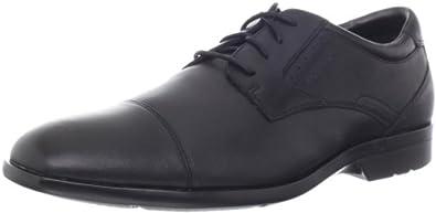 (超值)乐步Rockport Lite Cap Oxford 型男全粒面真皮减震正装皮鞋$53.15