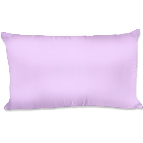 Spasilk 100-Percent Silky Satin Hair Beauty Pillowcase, Standard/Queen, Lavender