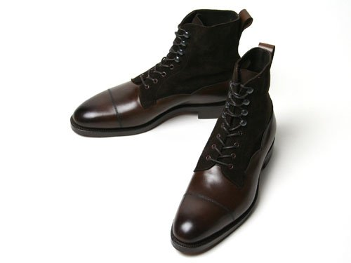 EDWARD GREEN【エドワードグリーン】GALWAY D82 DARKOAK ANTIQUE/MINK SUEDE(シューツリー込)