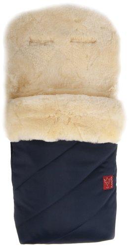 kaiser-kaiser-65420-22-sacco-termico-per-passeggino-paat-pelliccia-di-agnello-blu-marine