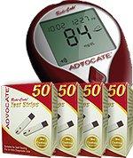 Image of Advocate Redi-Code Plus Talking Glucose Meter Kit w/ 50 Test Strips (B00A0SN7SE)