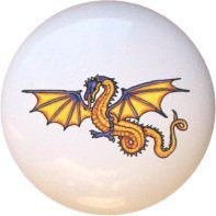 Dragon Design2 Drawer Pull Knob